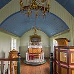 A small church on Grimsey Island.